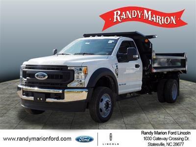 2020 Ford F-550 Regular Cab DRW 4x4, Monroe MTE-Zee Dump Body #FT11213 - photo 4