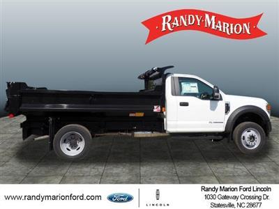 2020 Ford F-550 Regular Cab DRW 4x4, Monroe MTE-Zee Dump Body #FT11213 - photo 8