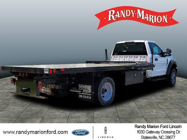 2020 Ford F-600 Regular Cab DRW 4x4, Monroe Platform Body #FT16999 - photo 1