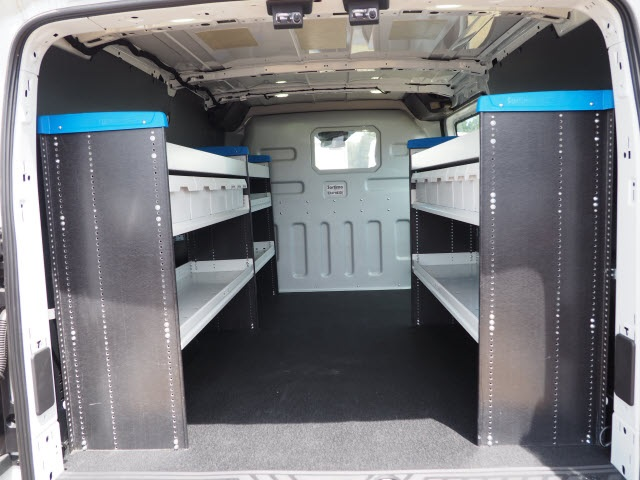 2017 Transit 250 Low Roof 4x2, Sortimo Shelf Staxx Upfitted Cargo Van #FT5288 - photo 2