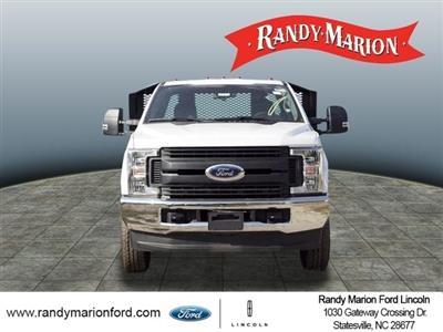 2019 Ford F-350 Regular Cab DRW 4x4, Monroe Work-A-Hauler II Platform Body #FT8935 - photo 3
