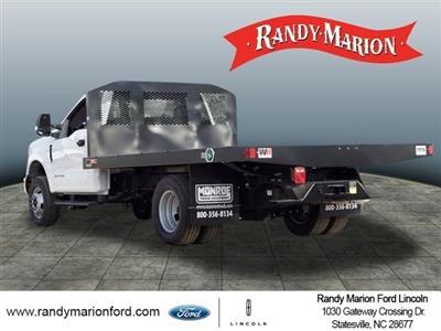 2019 Ford F-350 Regular Cab DRW 4x4, Monroe Work-A-Hauler II Platform Body #FT8935 - photo 6