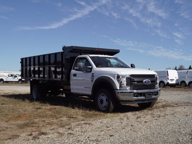 2019 Ford F-550 Regular Cab DRW 4x2, PJ's Landscape Dump #FT9390 - photo 1