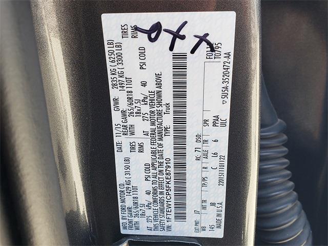 2015 Ford F-150 SuperCrew Cab 4x2, Pickup #LEE96104A - photo 14