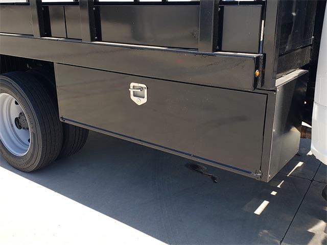 2021 Ford F-450 Regular Cab DRW 4x2, Harbor Black Boss Stake Bed #MDA03118 - photo 12