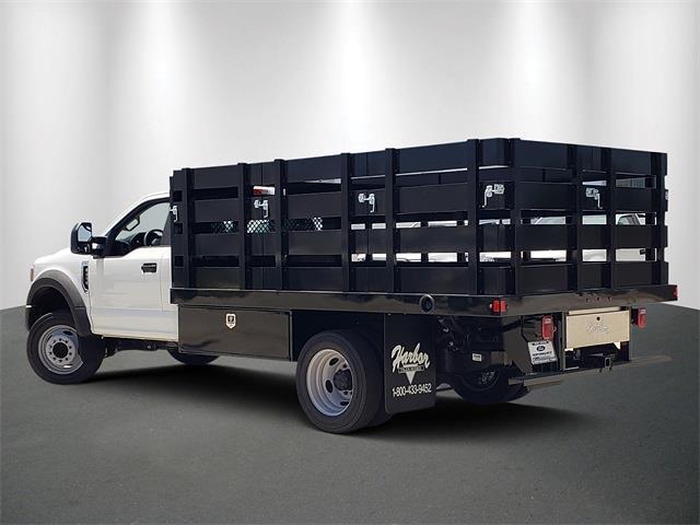 2021 Ford F-450 Regular Cab DRW 4x2, Harbor Stake Bed #MDA03118 - photo 1