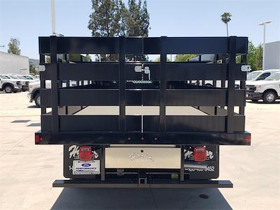 2021 Ford F-450 Regular Cab DRW 4x2, Harbor Black Boss Stake Bed #MDA03118 - photo 10