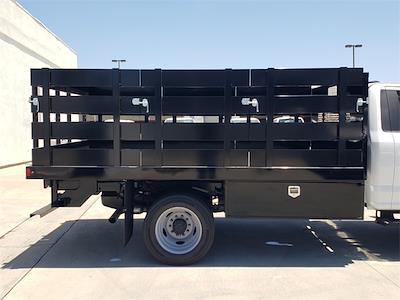 2021 Ford F-450 Regular Cab DRW 4x2, Harbor Black Boss Stake Bed #MDA03118 - photo 11