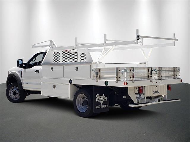 2021 Ford F-450 Regular Cab DRW 4x2, Harbor Contractor Body #MEC14305 - photo 1