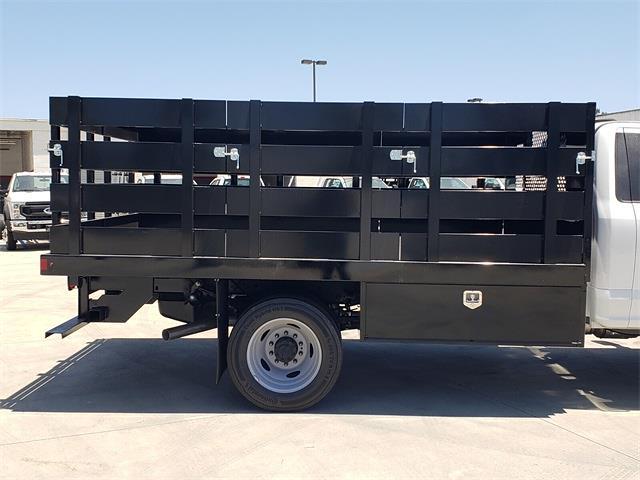 2021 Ford F-450 Regular Cab DRW 4x2, Harbor Black Boss Platform Body #MEC14306 - photo 11