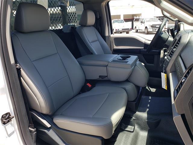 2021 Ford F-450 Regular Cab DRW 4x2, Harbor Black Boss Platform Body #MEC14306 - photo 14