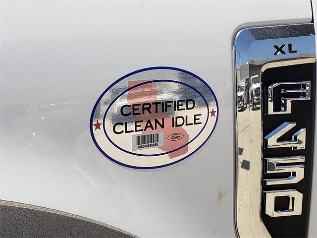 2021 Ford F-450 Regular Cab DRW 4x2, Harbor Black Boss Platform Body #MEC14306 - photo 19