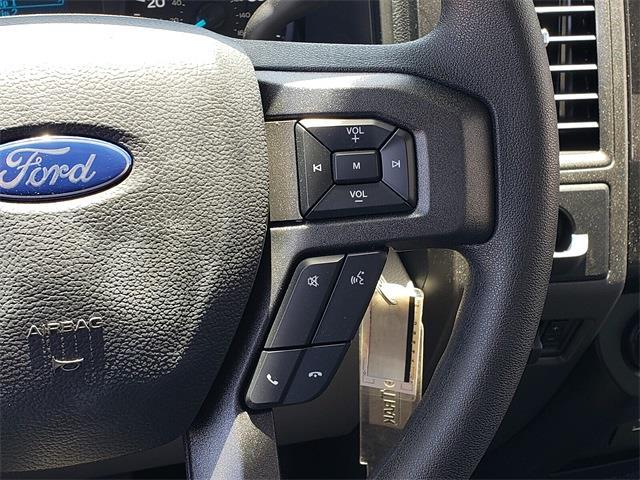 2021 Ford F-450 Regular Cab DRW 4x2, Harbor Black Boss Platform Body #MEC14306 - photo 24