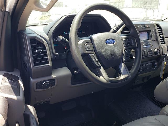 2021 Ford F-450 Regular Cab DRW 4x2, Harbor Black Boss Platform Body #MEC14306 - photo 5