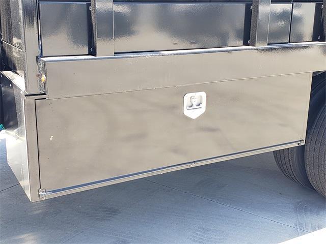 2021 Ford F-450 Regular Cab DRW 4x2, Harbor Black Boss Platform Body #MEC14306 - photo 7