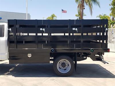 2021 Ford F-450 Regular Cab DRW 4x2, Harbor Black Boss Platform Body #MEC14306 - photo 6