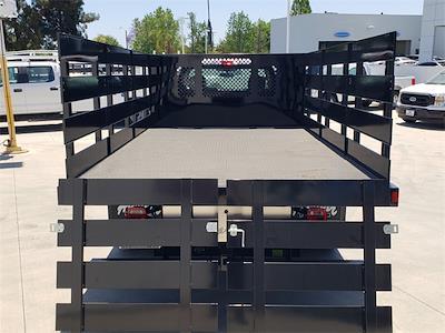 2021 Ford F-450 Regular Cab DRW 4x2, Harbor Black Boss Platform Body #MEC14306 - photo 9