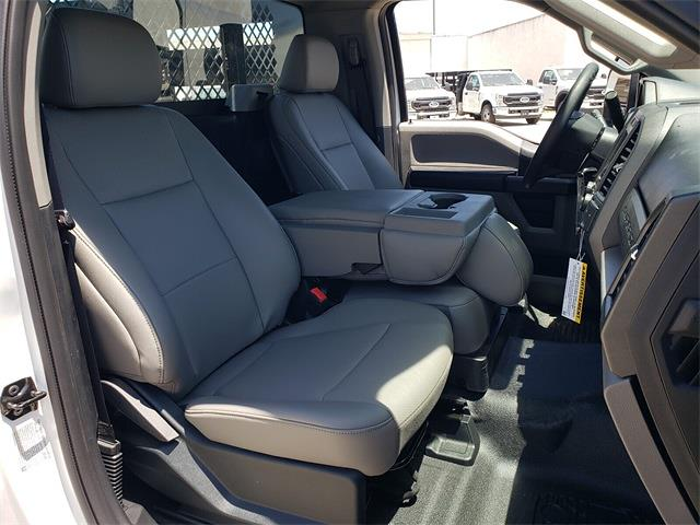 2021 Ford F-350 Regular Cab DRW 4x2, Harbor Black Boss Stake Bed #MEC75812 - photo 13