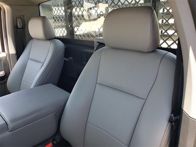 2021 Ford F-350 Regular Cab DRW 4x2, Harbor Black Boss Stake Bed #MEC75812 - photo 4