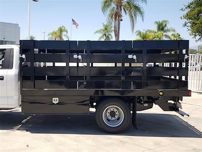 2021 Ford F-350 Regular Cab DRW 4x2, Harbor Black Boss Stake Bed #MEC75812 - photo 6