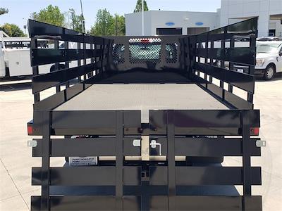 2021 Ford F-350 Regular Cab DRW 4x2, Harbor Black Boss Stake Bed #MEC75812 - photo 8