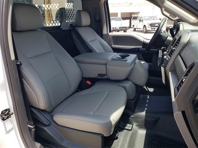 2021 Ford F-350 Regular Cab DRW 4x2, Harbor Black Boss Stake Bed #MEC75813 - photo 11