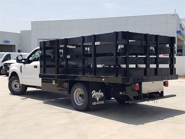 2021 Ford F-350 Regular Cab DRW 4x2, Harbor Stake Bed #MEC75813 - photo 1