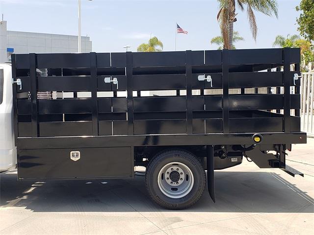 2021 Ford F-350 Regular Cab DRW 4x2, Harbor Black Boss Stake Bed #MEC75813 - photo 6