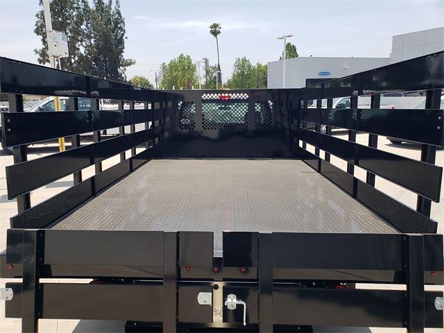 2021 Ford F-350 Regular Cab DRW 4x2, Harbor Black Boss Stake Bed #MEC75813 - photo 8