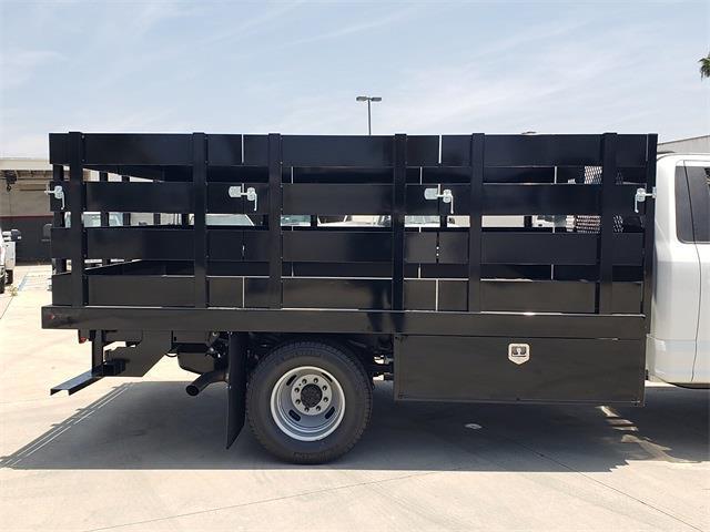 2021 Ford F-350 Regular Cab DRW 4x2, Harbor Black Boss Stake Bed #MEC75813 - photo 9