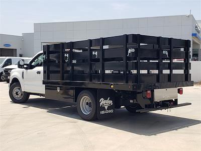 2021 Ford F-350 Regular Cab DRW 4x2, Harbor Black Boss Stake Bed #MEC75813 - photo 2