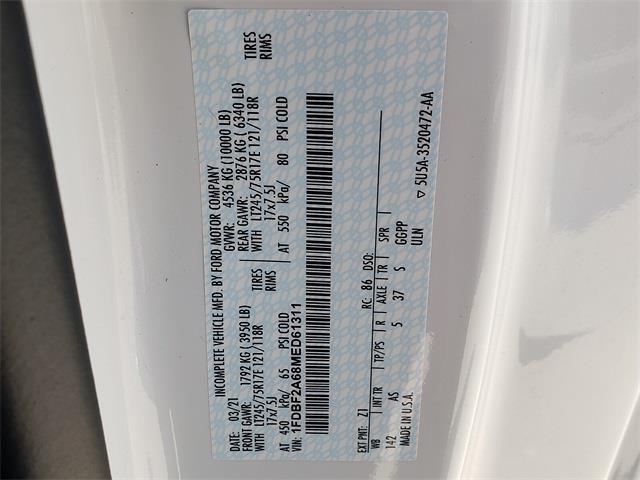 2021 Ford F-250 Regular Cab 4x2, Harbor TradeMaster Service Body #MED61311 - photo 15