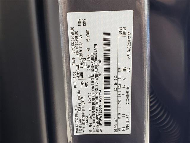 2021 Ford F-150 SuperCrew Cab 4x4, SCA Performance Pickup #MFA29394 - photo 22