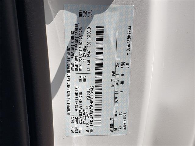 2022 F-550 Regular Cab DRW 4x2,  Cab Chassis #NEC13142 - photo 18