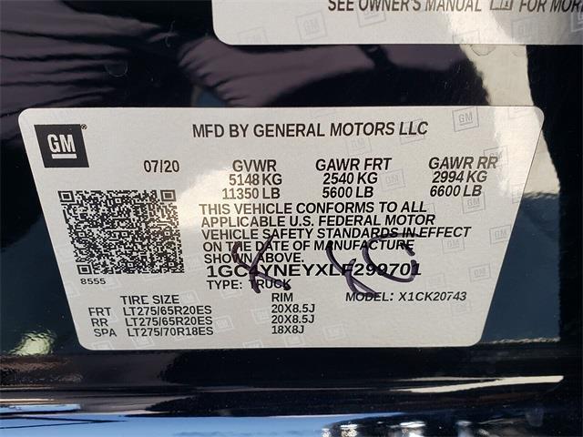 2020 Silverado 2500 Crew Cab 4x4,  Pickup #P1175 - photo 14