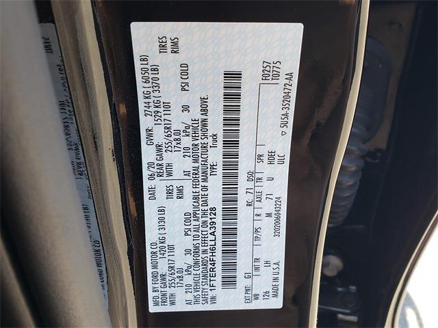 2020 Ford Ranger SuperCrew Cab 4x4, Pickup #P1190 - photo 14