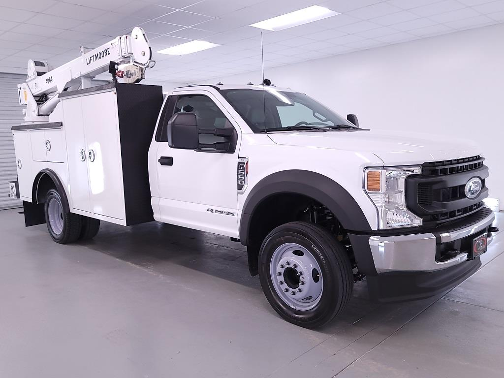 2021 Ford F-550 Regular Cab DRW 4x2, Reading Mechanics Body #FT040914 - photo 4