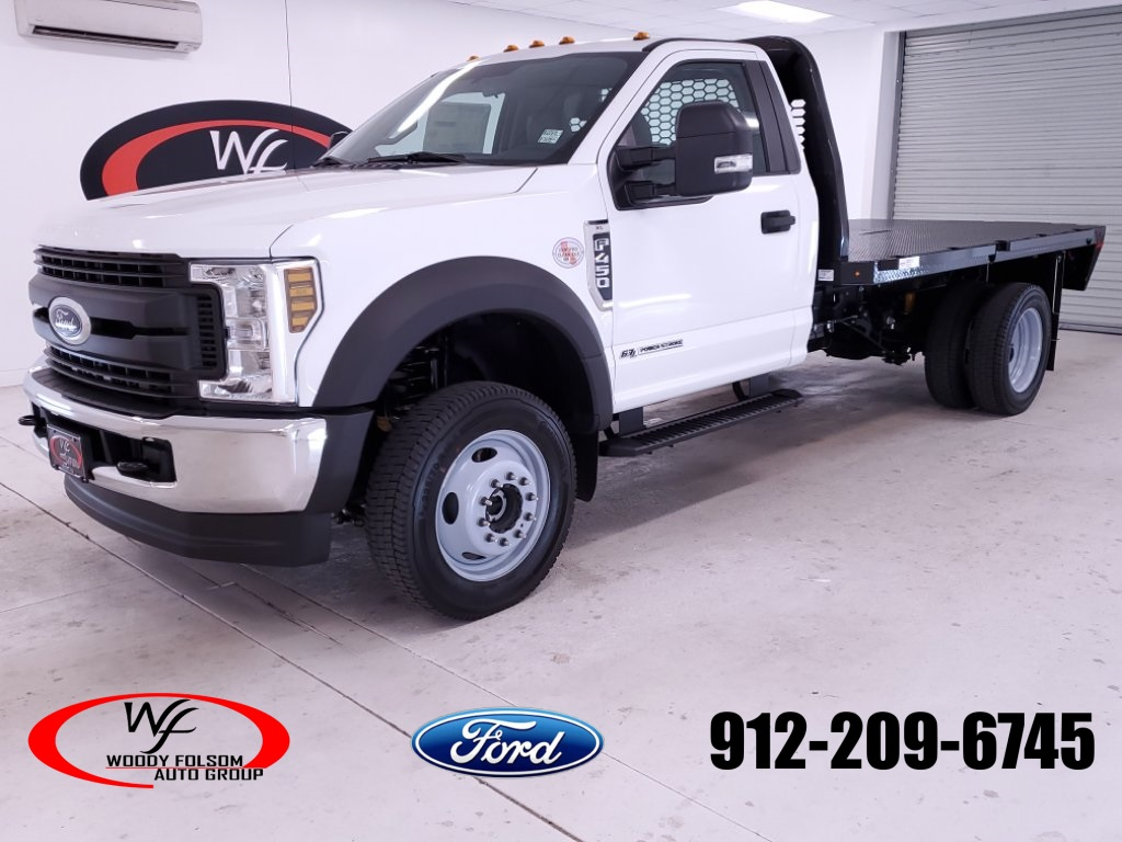 2019 Ford F-450 Regular Cab DRW 4x4, Knapheide Platform Body #FT090499 - photo 1