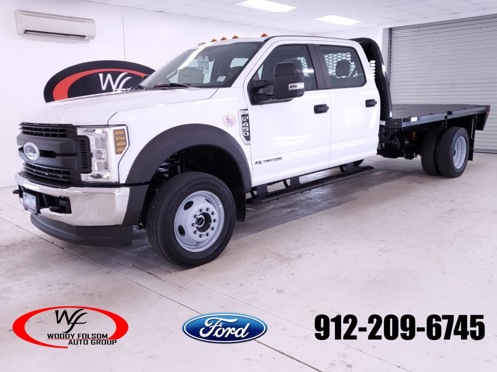 2019 Ford F-450 Crew Cab DRW 4x4, Knapheide Platform Body #FT091894 - photo 1