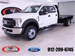 2019 Ford F-450 Crew Cab DRW 4x4, Knapheide Platform Body #FT101793 - photo 1