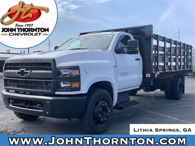 2019 Chevrolet Silverado Medium Duty Regular Cab DRW RWD, Knapheide Stake Bed #191409 - photo 1