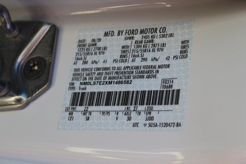 2021 Ford Transit Connect, Empty Cargo Van #B486582 - photo 21