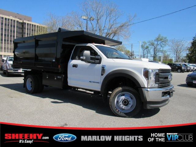 2019 F-450 Regular Cab DRW 4x4,  Rugby Landscape Dump #BA08731 - photo 3