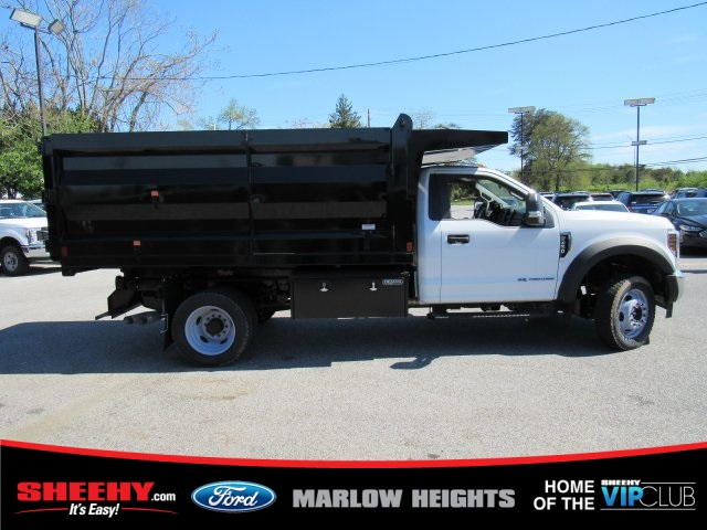 2019 F-450 Regular Cab DRW 4x4,  Rugby Landscape Dump #BA08731 - photo 10