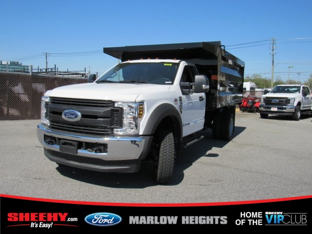 2019 F-450 Regular Cab DRW 4x4, Rugby Landscape Dump #BA08731 - photo 1