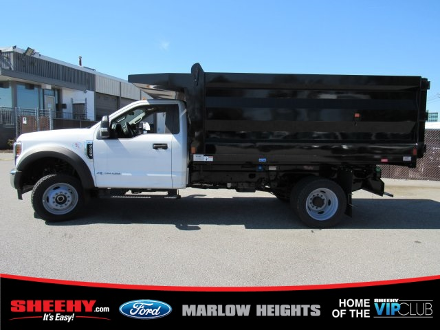 2019 F-450 Regular Cab DRW 4x4,  Rugby Landscape Dump #BA08731 - photo 7