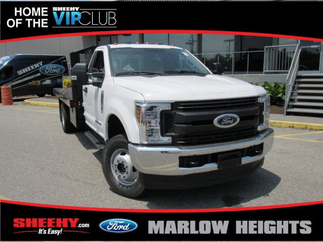 2019 F-350 Regular Cab DRW 4x4,  Monroe Work-A-Hauler II Stake Bed #BA11195 - photo 4