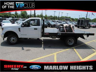 2019 F-350 Regular Cab DRW 4x4,  Monroe Work-A-Hauler II Stake Bed #BA11195 - photo 7