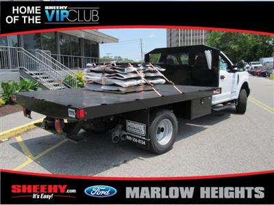 2019 F-350 Regular Cab DRW 4x4,  Monroe Work-A-Hauler II Stake Bed #BA11195 - photo 9