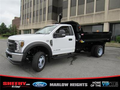 2019 F-550 Regular Cab DRW 4x4,  Monroe MTE-Zee Dump Body #BA19601 - photo 6